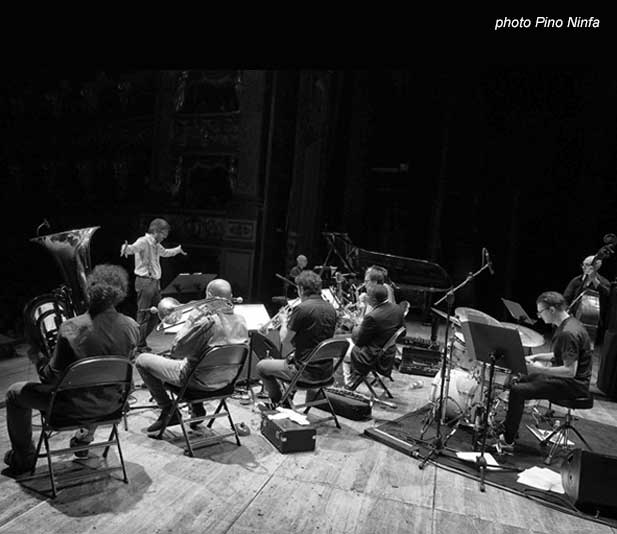Lydian Sound Orchestra & David Murray a Torino photo Pino Ninfa